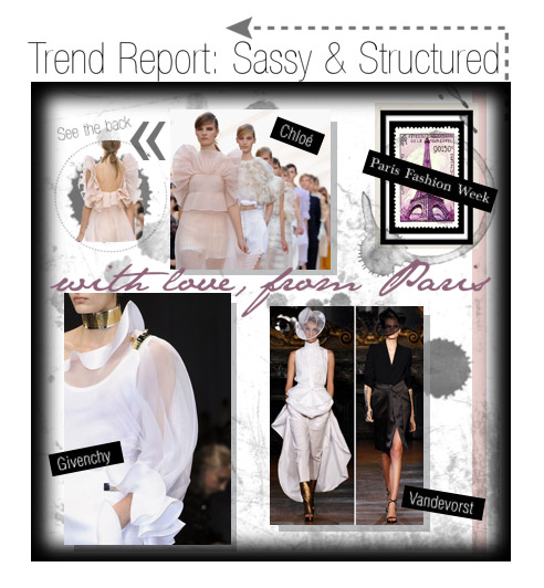 Trend Report: Paris Fashion Week Edition